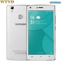 4G DOOGEE X5 MAX Pro RAM 2 GB + ROM 16 GB 5.0 ''Android 6.0 MTK6737 Quad Core 1.3 GHz LTE OTA OTG GPS 5MP Smartphone 4000 mAh
