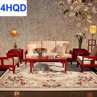 Nouvelle zélande laine salon table basse canapé tapis chambre lit couverture épais cryptage laine tapis