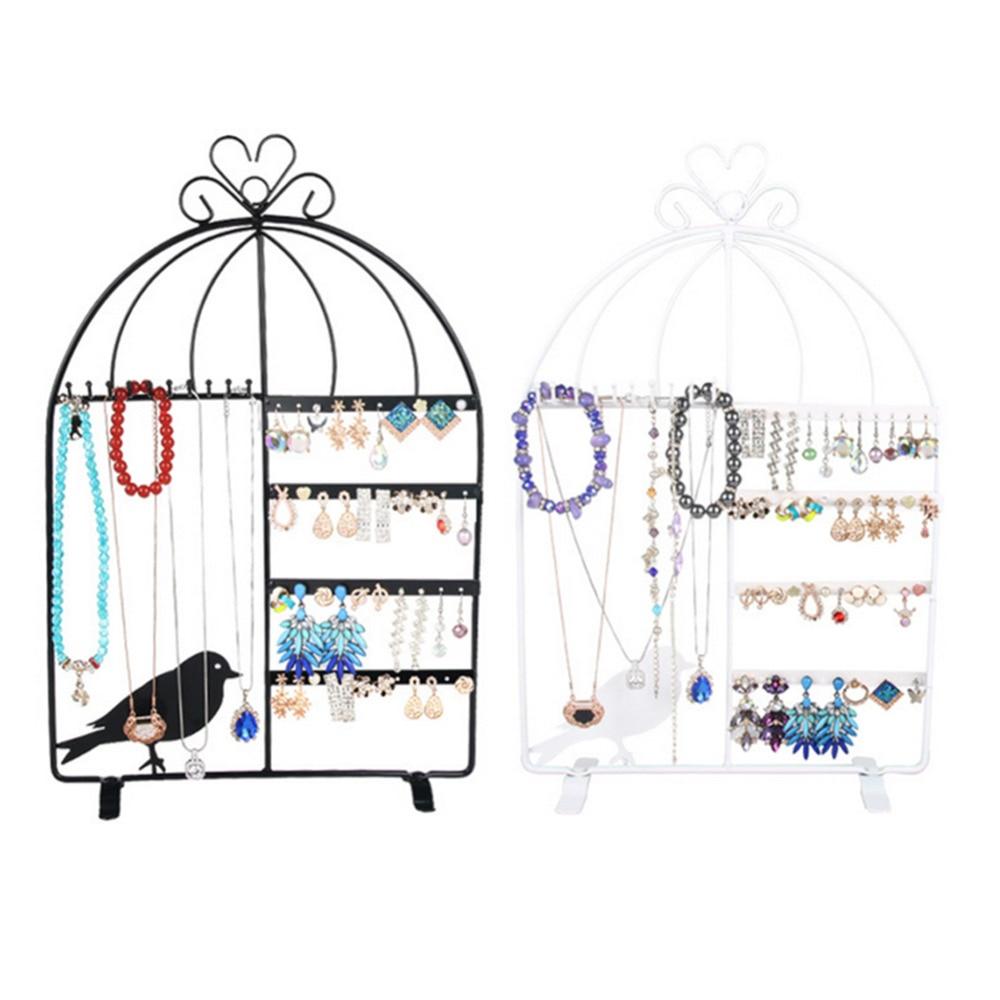Aliexpresscom Buy 1Pc Iron Wall Jewelry Earring Organizer