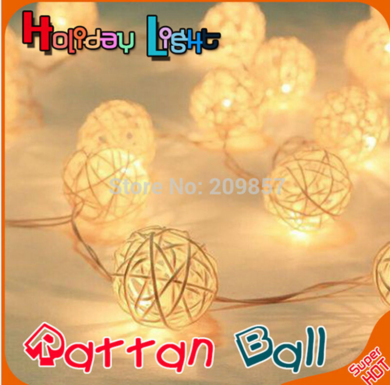 YINGTOUMAN 10m 80LED Rattan Lights String Christmas For Wedding Party Holiday Decoration Xmas Lamp 3AA Battery Power high quantiy 28 ball led 5m string light for christmas xmas holiday wedding party decoration fashion holiday light 8 mode work