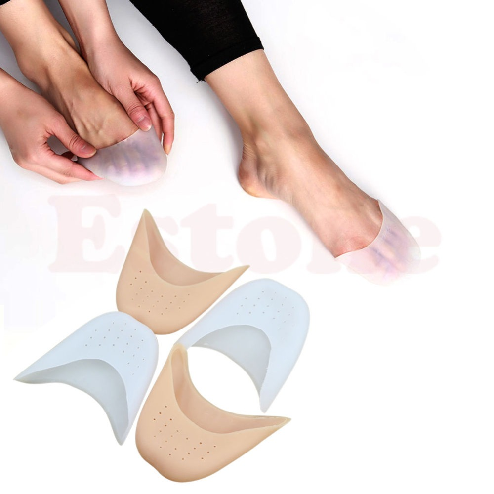 Soft Silicone Gel Girls Boys Professional Toe Caps Ballet Pointe Dance Shoe Pads