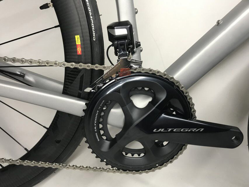 2018 disque vélo de route en fibre de carbone vélo complet vélo carbone BICICLETTA vélo groupe R8020 disque carbone 50mm pneu - 6