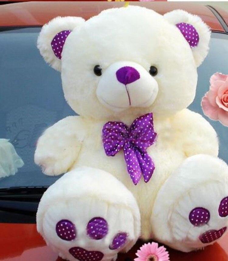 60CM Purple Teddy Bear plush toys Dolls teddy bear stuffed