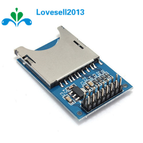 Free Shipping Reading And Writing Module For Arduino SD Card Module Slot Socket Reader ARM MCU