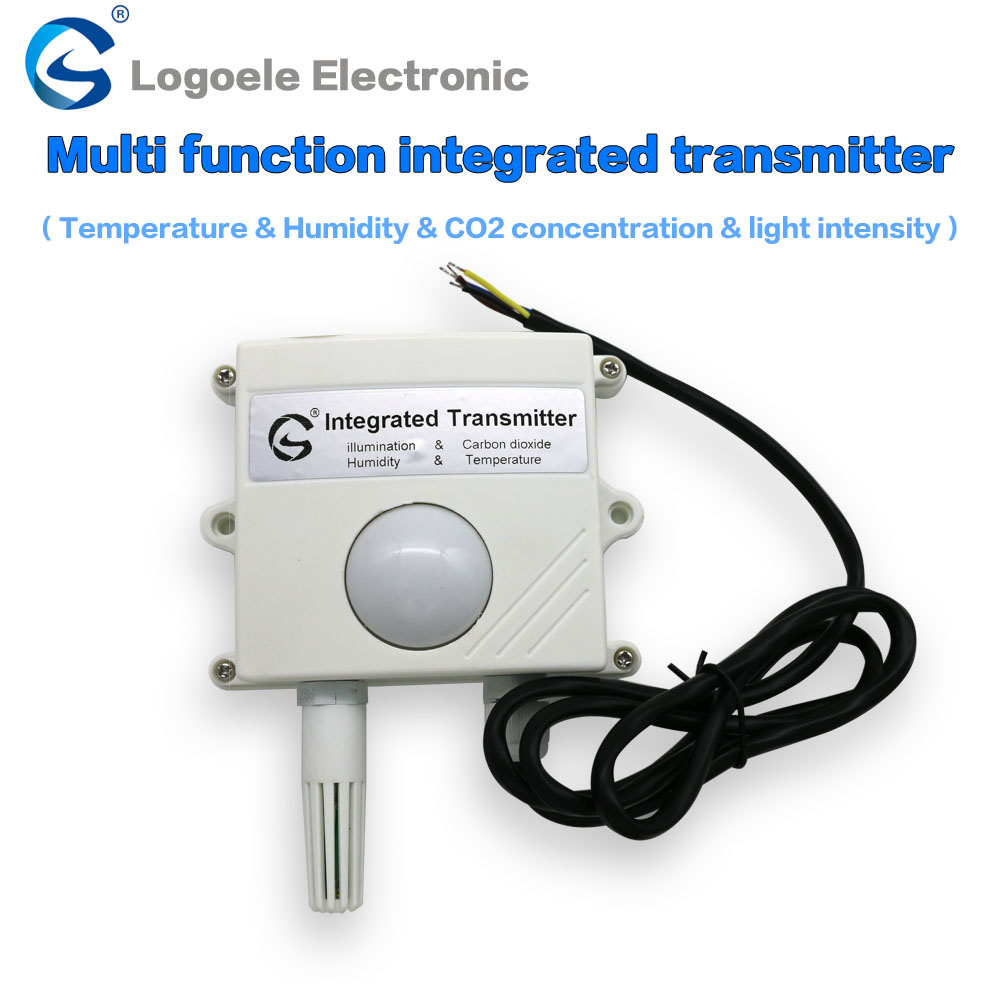 High quanlity controllers, light intensity, temperature and humidity T&H, CO2, transmitters, 485 output Four in One sensors made in taiwan fotek tc72 dd r3 digital temperature controllers