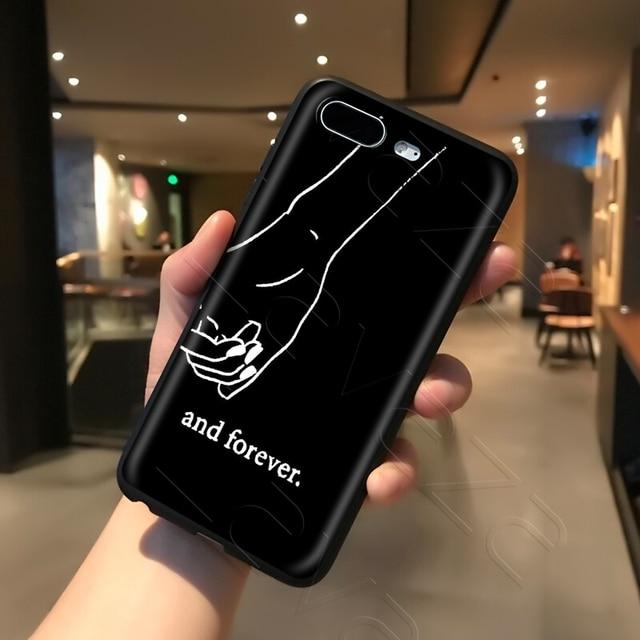 Lavaza Best Friend Girlfriend Boyfriend Case for iPhone 11 Pro XS Max XR X 8 7 6 6S Plus 5 5s se