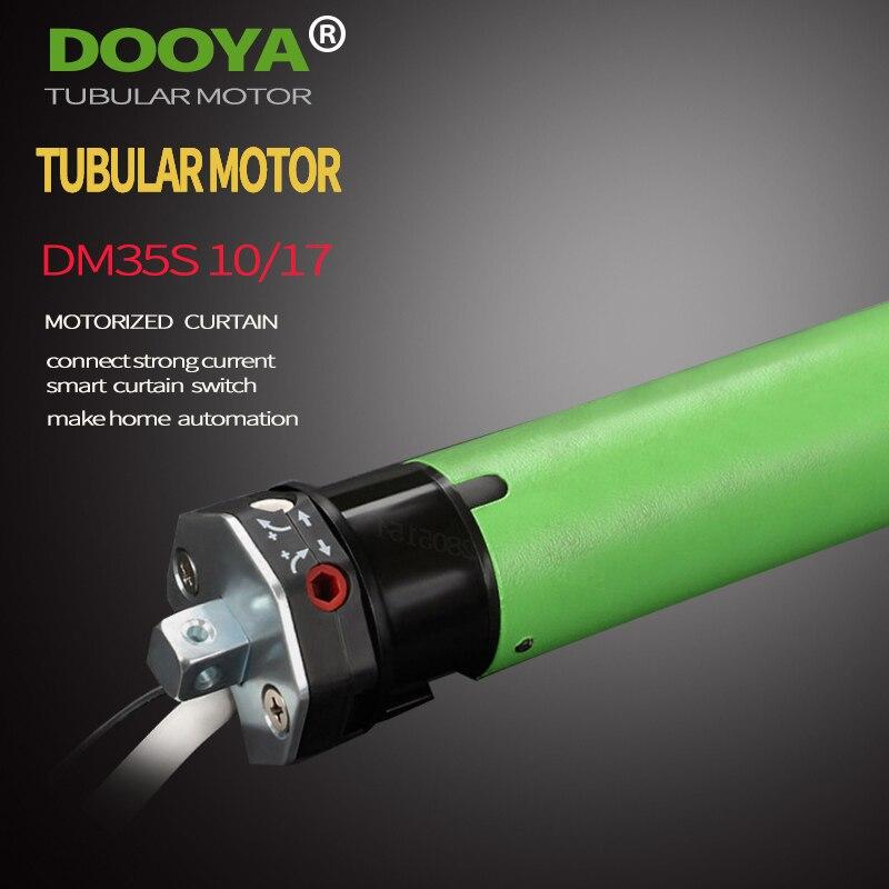 Moteur tubulaire Dooya Original de haute qualité 220V 50MHZ DM35S pour stores roulants motorisés compatibles avec le commutateur de tension principal