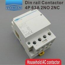 Din-рейку контактор гц бытовой переменного тока ~ p в