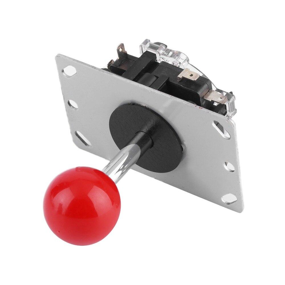 Neue 4/8 Weg Arcade Spiel Joystick Ball Freude Stick Rot Ball Ersatz Lager Angebot Aromatischer Geschmack Unterhaltungselektronik Steuerknüppel