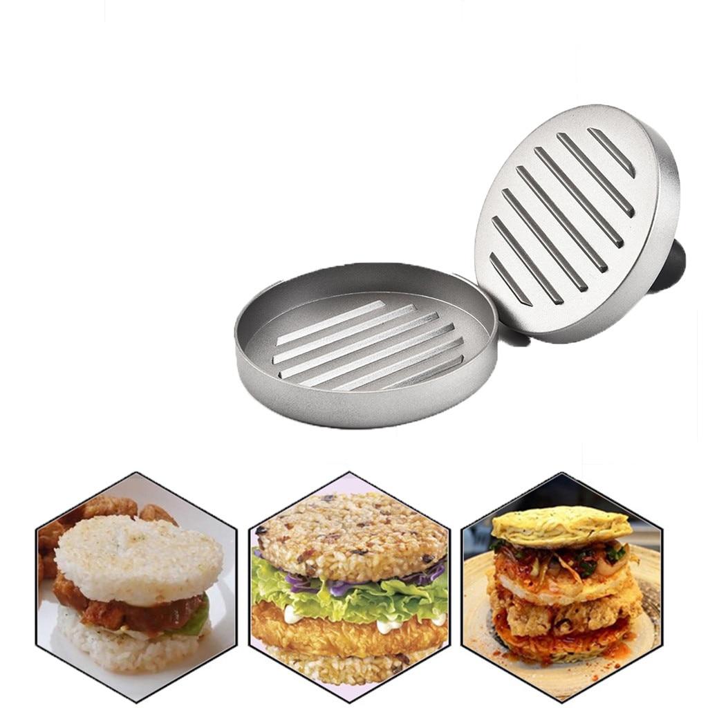 Hamburger Press Mould Kitchen Meat Utensils Hamburger Maker Grill Burger Patty Press Mold Barbecue Tool Home Cooking