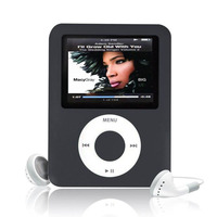 Hot High Quality MP4 With Earphones 1.8inch Screen LCD Media Video Game Movie FM Radio 3th Generation MP4 Music Player