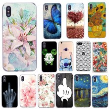 цена на Soft Silicone Phone Case For iphone 7 Leaf Plants Colorful TPU Fundas Capa Case For iphone 6 6s 7 8 8 plus 5 5s SE X Cases