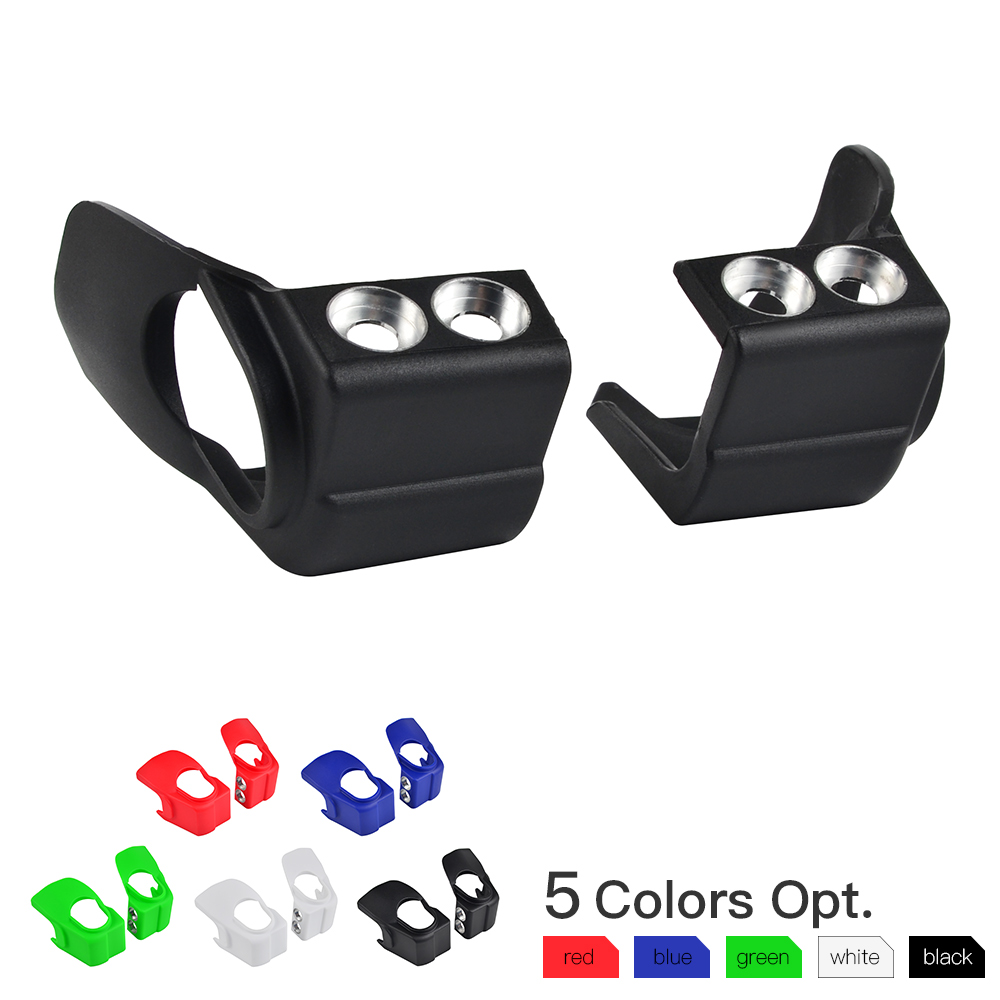 Pair Fork Shoe Guard Protection For Honda CRF250R F450R CRF250X 450RX Kawasaki KX250F KX450F Yamaha YZ125 YZ250 YZ250F YZ450F-in Covers & Ornamental Mouldings from Automobiles & Motorcycles