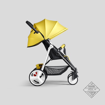 цена Baby stroller can sit reclining lightweight folding ultra light portable compact baby stroller newborn light stroller онлайн в 2017 году