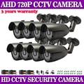CCTV Камеры CMOS Сенсор 720 P 1200TVL Ик-Фильтр AHD Камеры 960 H Внутреннего/Наружного Водонепроницаемый 36 СВЕТОДИОДОВ 3.6 мм Объектив Камеры Безопасности