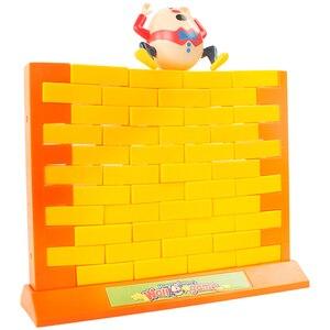 Children's wall-breaking game
