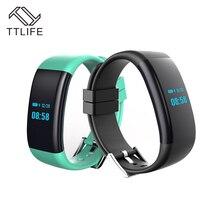 TTLIFE Новый DF30 умный Браслет Bluetooth 4.0 монитор сердечного ритма крови Давление/Монитор кислорода браслет IP68 Водонепроницаемый часы