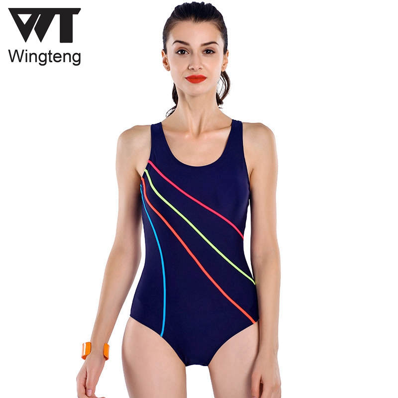 2018 Women Professional One Piece Swimwear Female push up Bodysuit Training Swimsuit Sports wear Racing Competition Bathing Suit phinikiss printed racing swimwear large size one piece suit professional swimsuit sport bathing suit competition 2016 triathlon