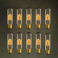 LightInBox E27 40 W 110 V/220 V Rétro Ampoule À Incandescence Pour Salon Chambre Bar De Noël 10 pcs T10 Vintage Edison Ampoule