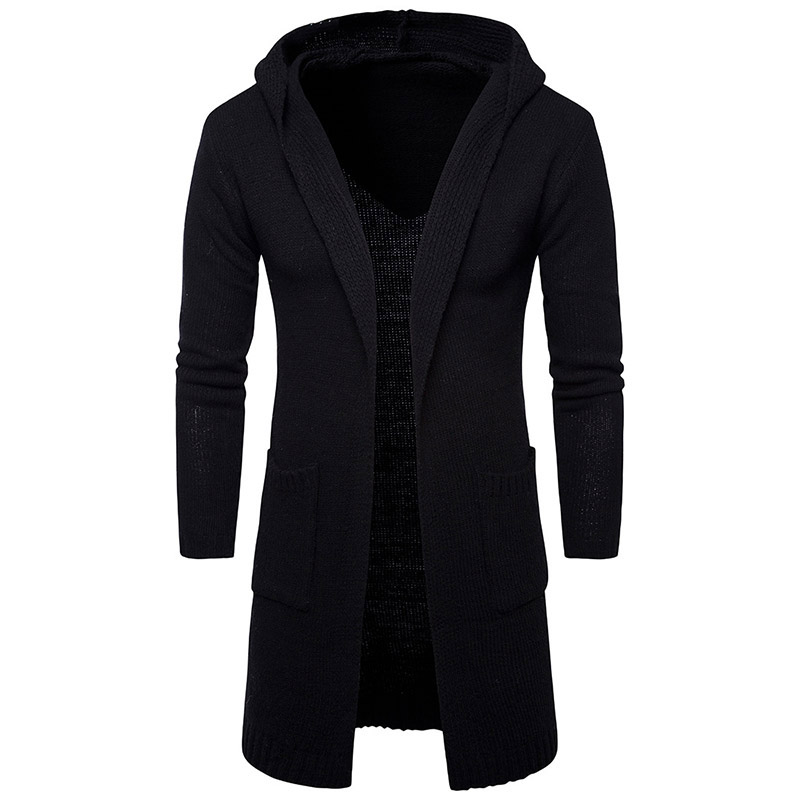 2018-New-Fashion-Mens-Cardigan-Sweaters-Casual-Long-Coat-Autumn-Hooded-Knitted-Sweaters-Sweatercoats-Male (2)