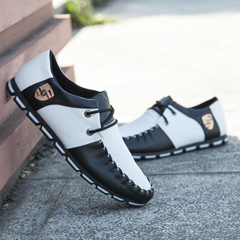 De Libre Del Estilo white Los Ocio Coreano Zapatos Moda Hombres Black And Carga Negocios 2018 pCxnqwX5ZH
