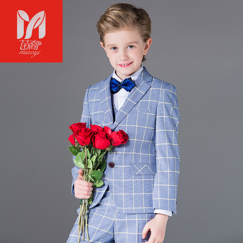 2017 children's leisure clothing sets kids baby boy suits Blazers Dress vest gentleman clothes for weddings formal clothing