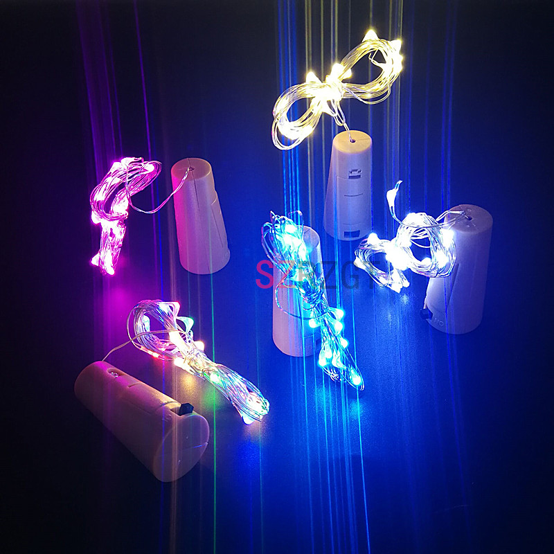 2m 20leds Mini Led Holiday String Lights Micro Waterproof Lamp Indoor Wedding Light Home