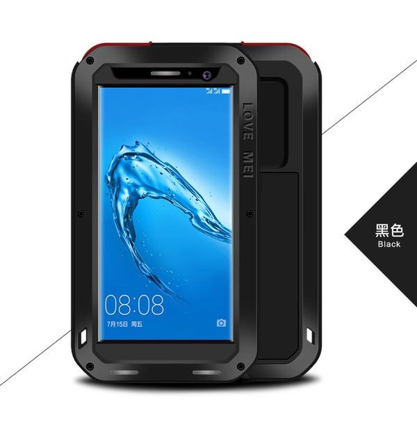 buy online 701fb d7b33 US $28.0  Love Mei For Huawei Nova Plus Case Metal Aluminum Dirt Waterproof  Powerful Case Cover For Huawei Nova Plus + Tempered Glass-in Fitted Cases  ...