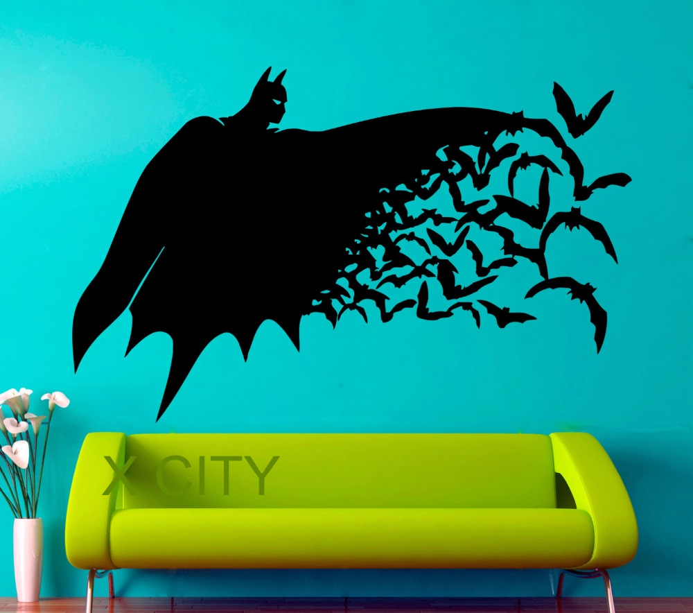 Buy superhero batman movie poster dark for Pop wall art