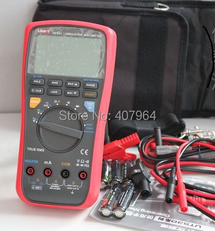 UNI-T UT531 LCD Insulation Digital Multimeter Volt Amp Ohm Capacitance Tester доска для ограждения garden dreams 1 1 м