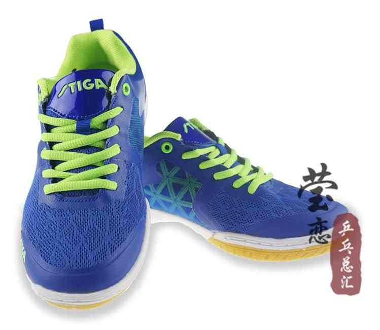 Original stiga table tennis shoes unisex 2015 new style professional breathable non-slip sports shoes comfortable for ping pong