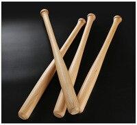 Men Sport Baseball Bat Natural robinia High polished Professional solid wood baseball bat fitness ball stickself defense weapon