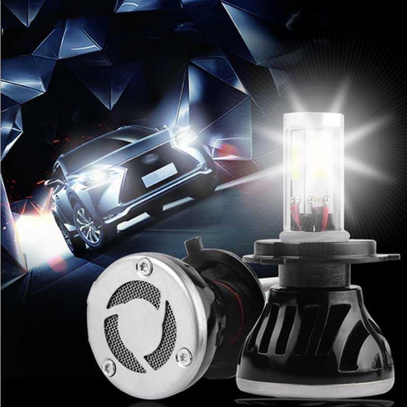 New 2PCS 80W 6000k White 9005 High Power LED Headlight Bulbs Light Conversion Kit 2016 h3 car led light auto modificated headlamp led headlight bulbs all in one conversion kit 80w 7200lm 6000k white