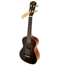 23 inch Ukulele Concert Whole Rosewood Hawaiian 4 Strings Small Guitar Electric Ukelele with Pickup EQ Music strings Instruments