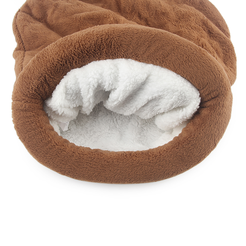 Cute Cat Sleeping Bag Winter Warm Cat Bed Small Dog House For Small Animals Soft Rabbit Nest Cushion Pet Sleep Bag #6