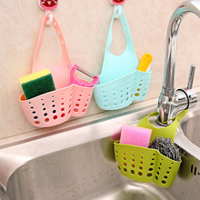 Hanging Kitchen Sink Drain Basket Tools Adjustable Creative Racks Faucet Storage Baskets Sponge Soap Gadgets