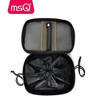 MSQ 10pcs Pro Makeup Brushes Set Face Basic Brush Blending Eyeshadow Lip Make Up Brushes Kit Soft Synthetic Hair Cosmetics Tool 6