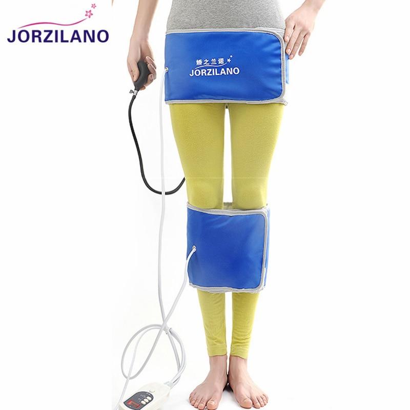 JORZILANO Far IR Inflatable Leg Correction Belts O&X Form Legs Straightening Instrument Bandage Bowlegs Corrector Brace Heating
