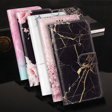 High Quality Stand Flip Leather mobile Case For Huawei Mate 10 Pro P20 Lite Phone Cover For Huawei P20 Plus Y9 2018 P9 Lite Mini(China)