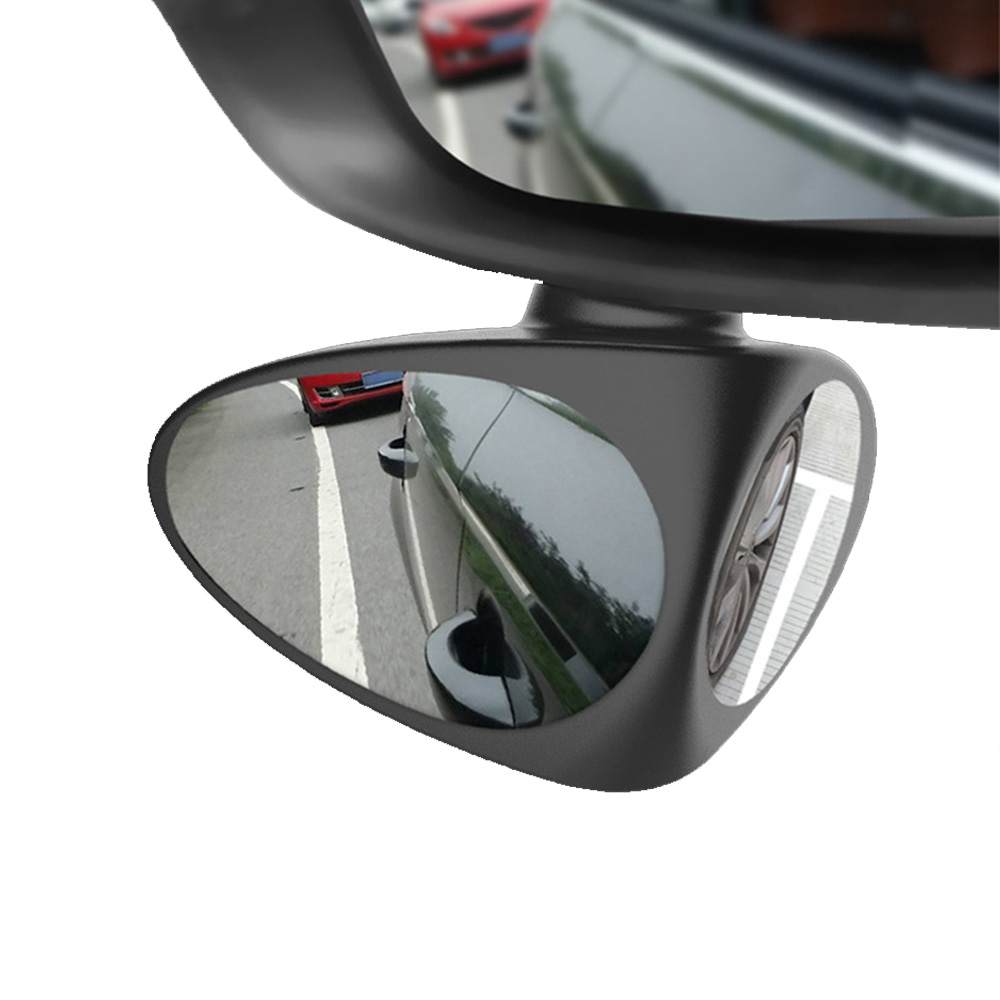 Car shape Car Blind Spot Mirror 360Rotation Adjustable Double sided Mirror Rear View Mirror Tire Anti collision Auxiliary Mirror in Mirror Covers from Automobiles Motorcycles