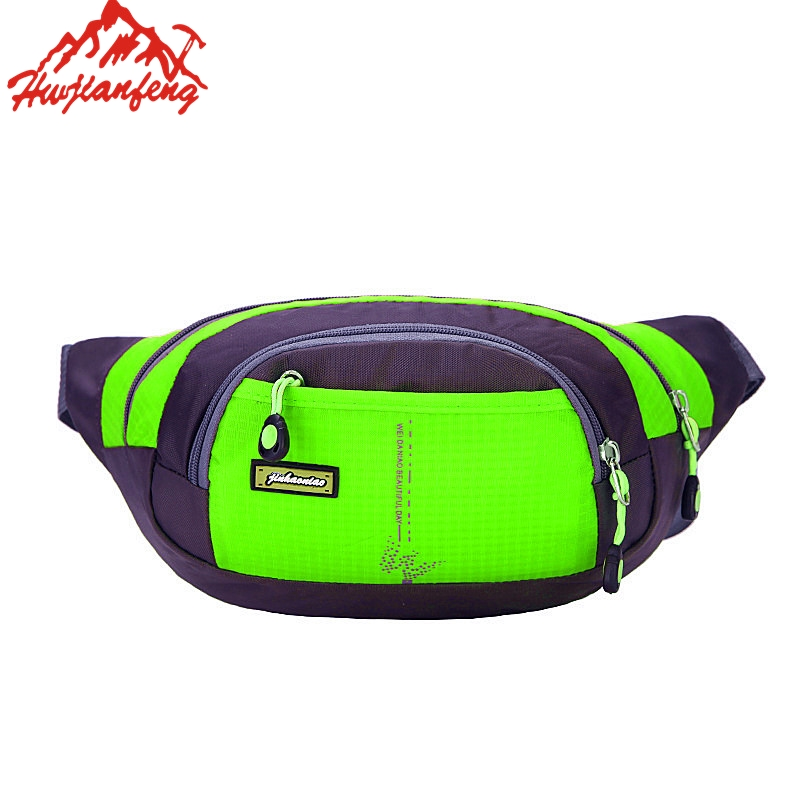 Unisex Sport Running Waist Pack Waist Pouch Cycling Fanny Pack For Mobile Phone Gym Bag Outdoor Waterproof Nylon Bag For Fitness Relojes Y Joyas