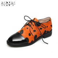 Women Shoes Genuine Leather Fur Flats 2019 Spring Casual Plus Size 33 42 Oxfords Shoes Woman Print Horsehair Flats with Shoe Box