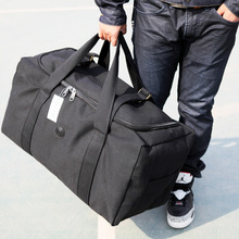 New Arrivals Canvas Leather Men Travel Bags Carry on Luggage