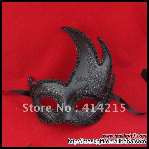 В США Сексуальная черная маска для тематическая вечеринка Хэллоуин маска
