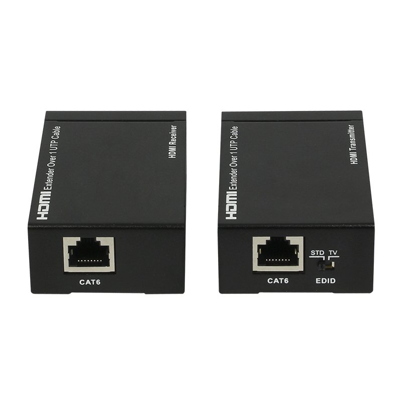 HDMI Extender 50M/164ft CAT5E/CAT6 Transmitter+Receiver with IR Control