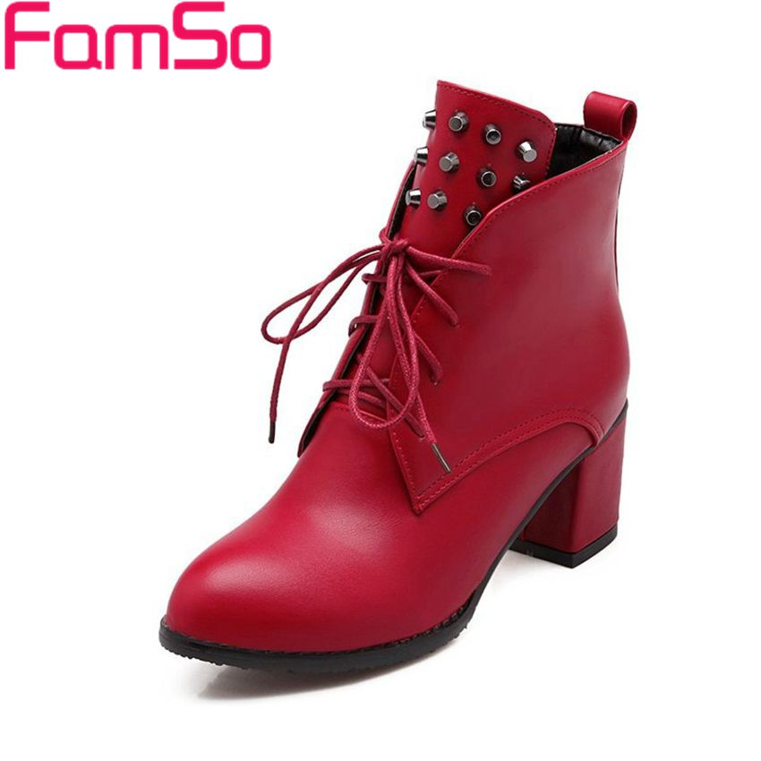Plus Size34 43 2016 New Sexy font b Women b font Autumn Martin boots Pointed Toe