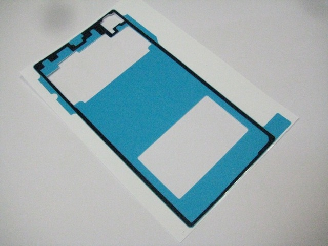 2 x New Battery Cover Adhesive Glue Tape Sticker For Sony Xperia Z1 L39H Fix Repair New In Stock + Tracking