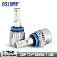 H4 H7 H11 H13 9005 HB3 9006 HB4 72W LED Car Headlight Bulb Hi Lo Beam