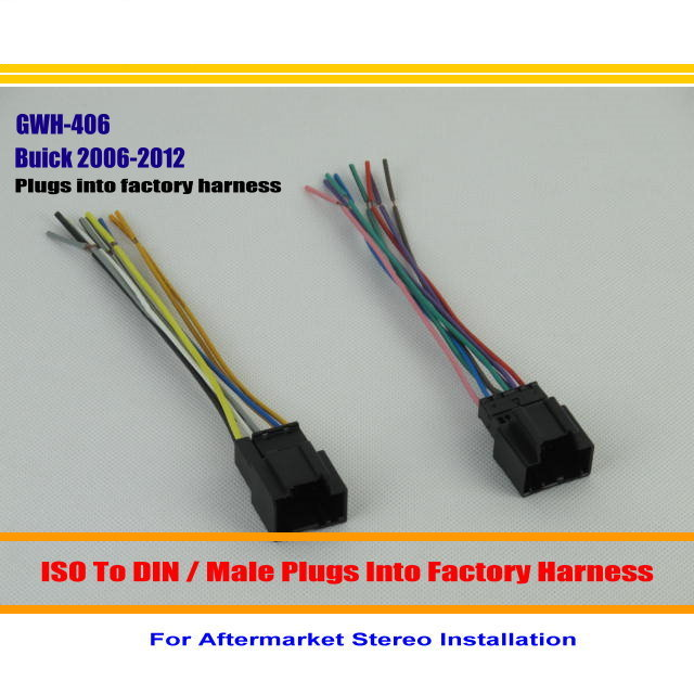 For Buick Enclave Lucerne Car font b Radio b font CD Player TO Aftermarket Stereo DVD buick enclave wiring harness cadillac sts wiring harness, kia buick enclave wiring harness at mifinder.co