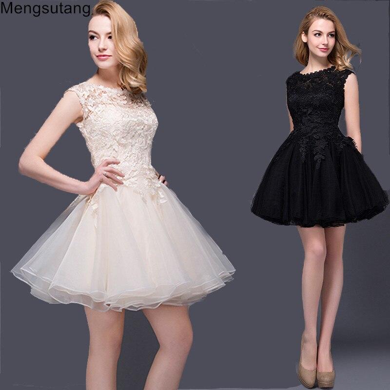 Robe De Soiree 2019 Lace Sisters Dress Short Banquet Ball Gown Vestidos Sexy Evening Dress Vestidos De Festa Prom Dresses